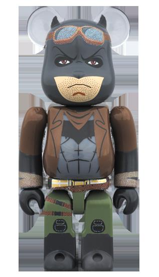 BEETLE BE@RBRICK KNIGHTMARE BATMAN 庫柏力克熊 夢魘蝙蝠俠 100%