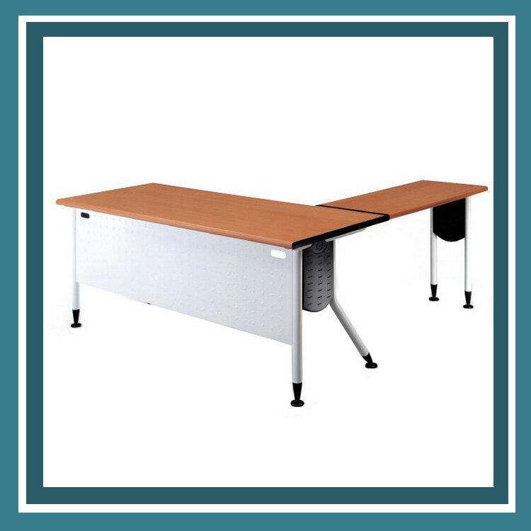 KRW-167H 主桌 紅櫸木 雪白桌腳 辦公桌 /張
