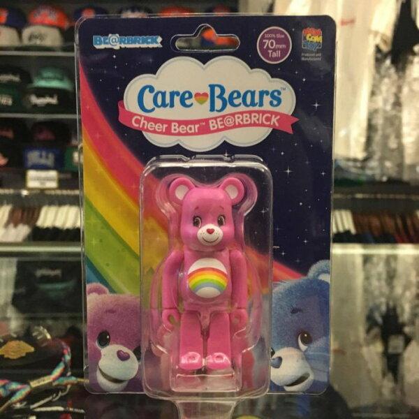 BEETLE PLUS:BEETLEBE@RBRICKMEDICOMCAREBEARSCHEERBEAR100%彩红熊粉紅色