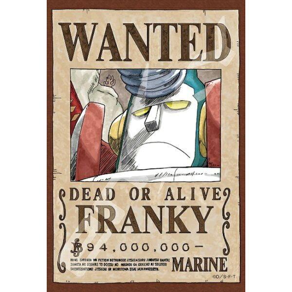 【進口拼圖】迷你極小片海賊王新版懸賞單佛朗基150片ES150-565