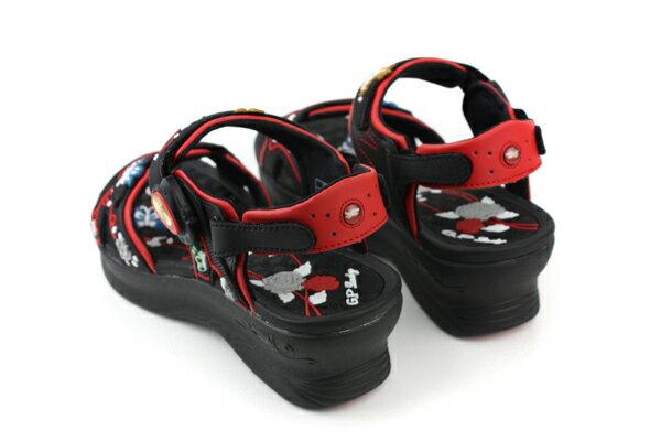 G.P 涼鞋 黑紅 女款 no620 1