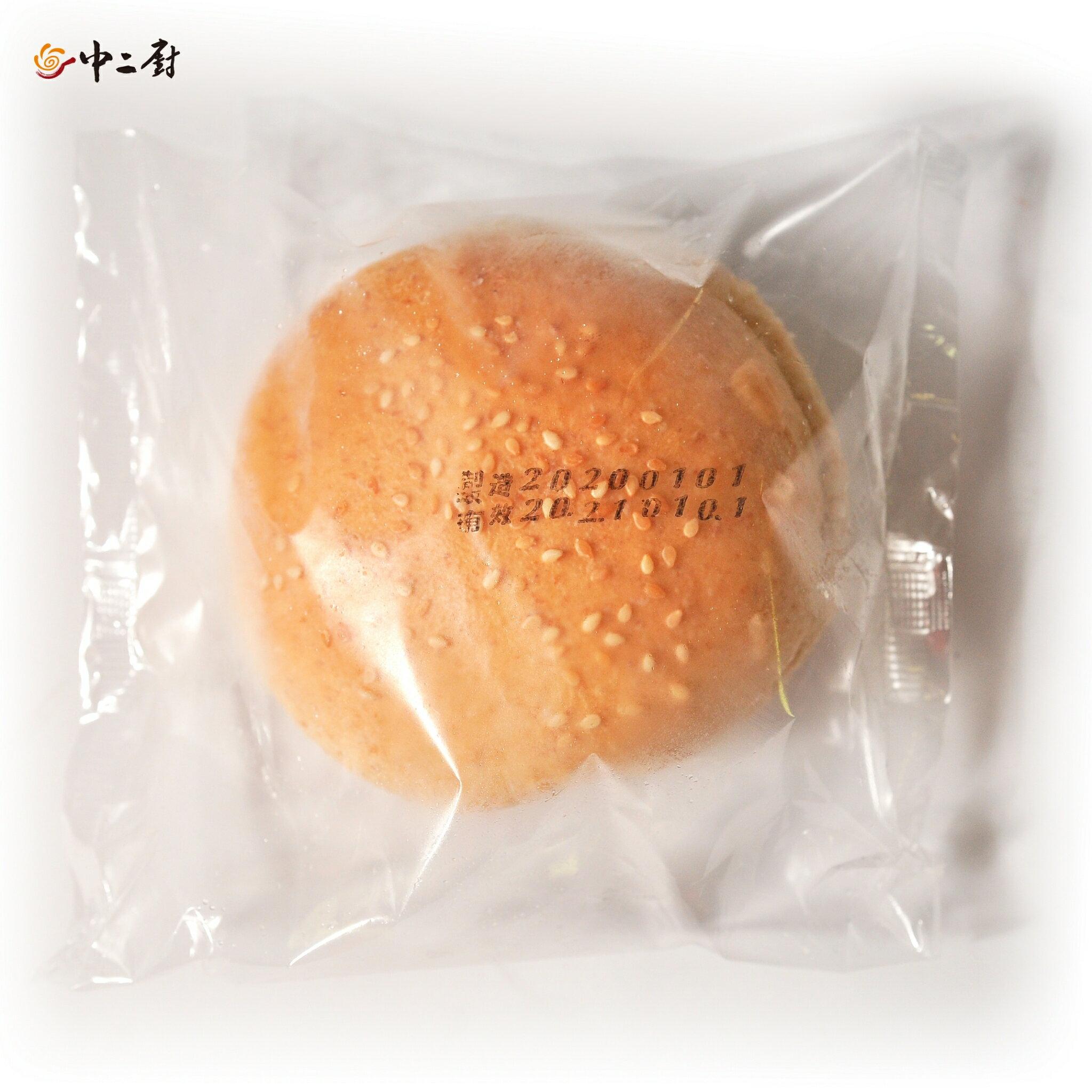 全麥Q堡(漢堡麵包) (單包裝) 30入/箱