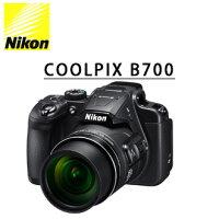 [滿3千,10%點數回饋]★分期0利率★送清潔組+保護貼 Nikon COOLPIX B700  黑色 國祥公司貨 類單眼高望遠數位相機-Nikon-Mall-3C特惠商品