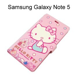 Hello Kitty 彩繪皮套 [SWEET] Samsung N9208 Galaxy Note 5【三麗鷗正版授權】