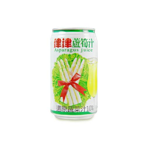津津蘆筍汁340ml*6【愛買】