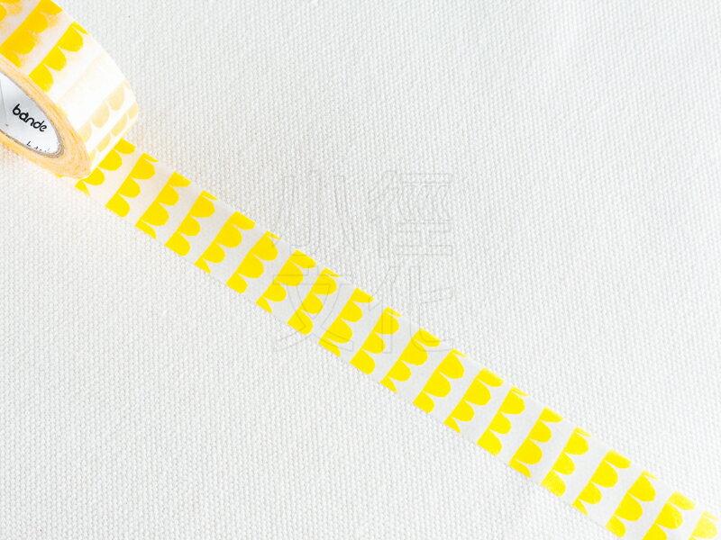 *小徑文化*日本進口 NICO Bande 和紙膠帶 法國傳統色 系列 - 鱗_黃 ( BDA 148 )