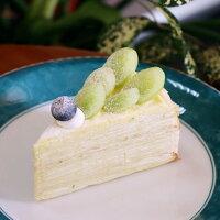 綠寶石 #蜂蜜萊姆白葡萄千層#六吋/八吋#千層首選#生日蛋糕#法式千層蛋糕 【 Rubby手作千層 】 0