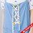 【618購物節】【maru.a】綁帶裝飾魚尾裙襬長洋裝(淺藍) 5