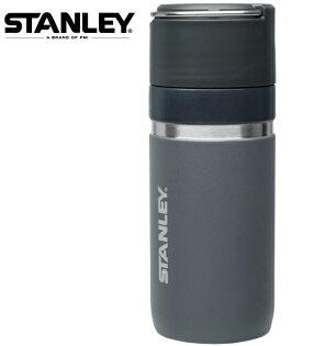 StanleyGO陶瓷烤漆真空保溫瓶保溫水壺環保杯0.47L1003107灰黑003