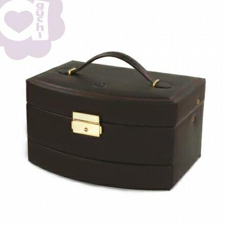 【Aguchi 亞古奇】皇家風範-貴族棕 (氣質貴族系列) 珠寶盒 1