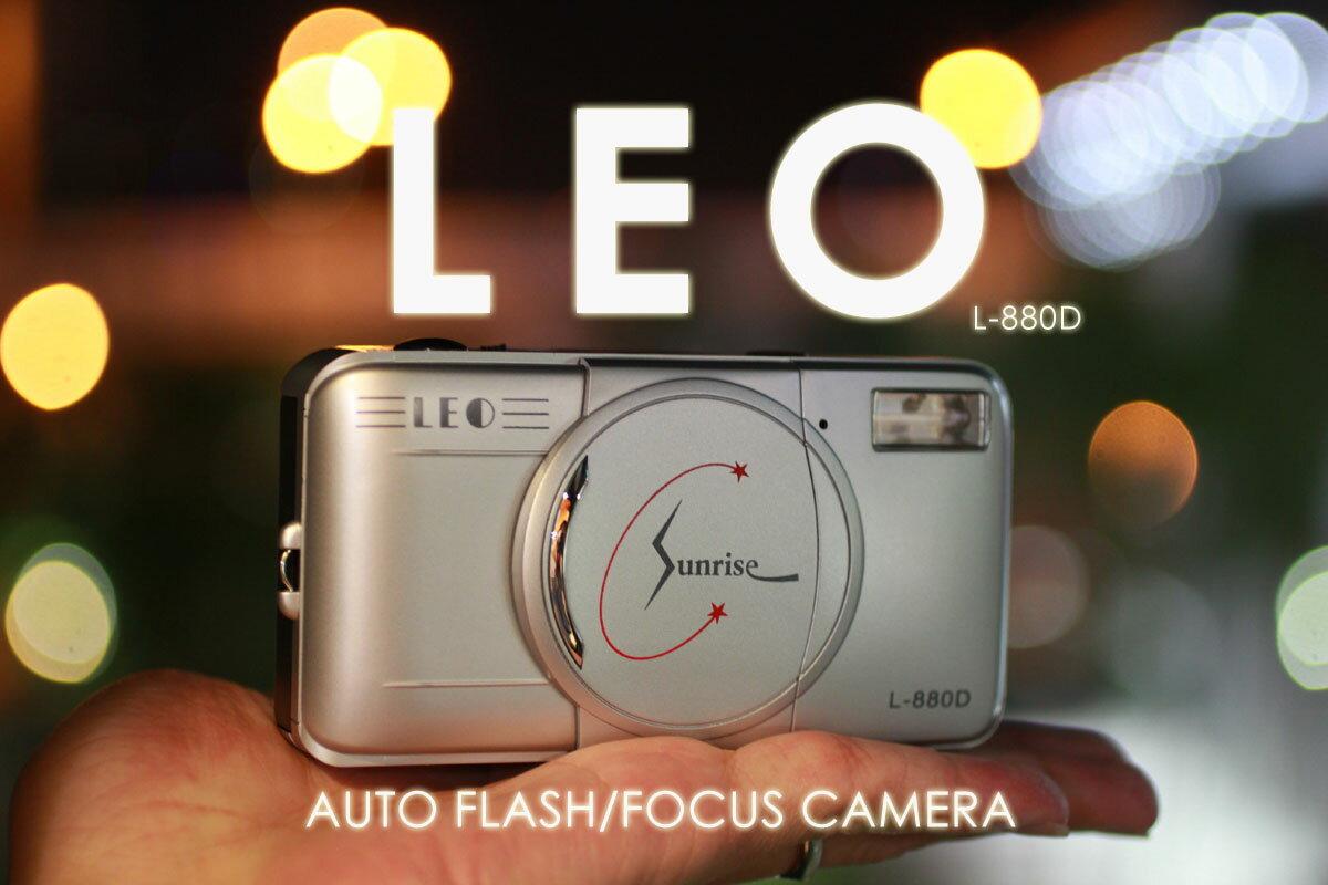 [享樂攝影] 全自動閃燈LOMO 底片相機 LEO L-880D  30mm F9 Auto Lomo LCA+ HOLGA 傻瓜相機