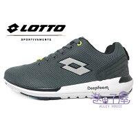 【巷子屋】義大利第一品牌-LOTTO樂得 男款Cityride記憶鞋墊多功能訓練鞋 [5008] 絢彩灰 超值價$690-巷子屋-潮流男裝