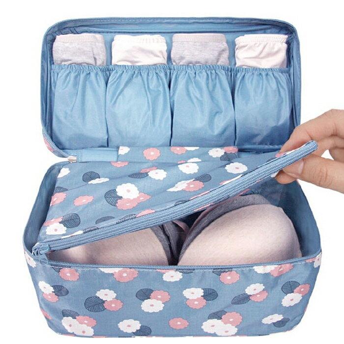 【酷創意】韓國新二代內衣收納包 內衣 旅行多功能 胸罩內衣整理包 手提旅行袋(E473)