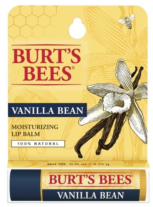 【彤彤小舖】Burt's Bees 蜜蜂爺爺 香草戀乳護唇膏 Vanilla Bean 0.15oz (4.25g)