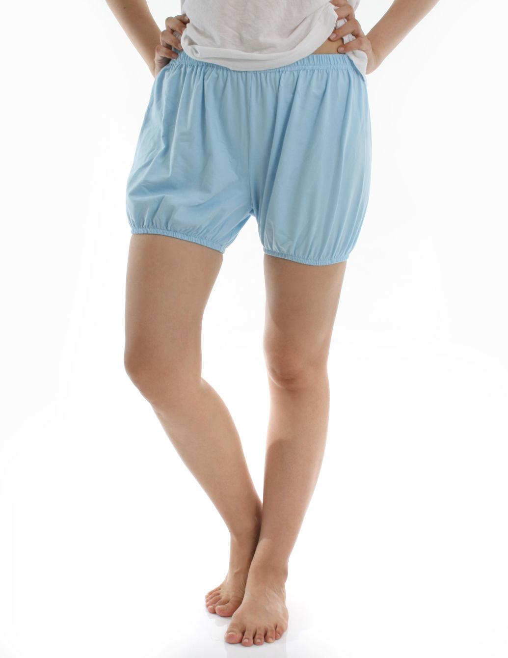 360度全方位防走光! RTBU瑜珈褲~燈籠褲造型。天空藍