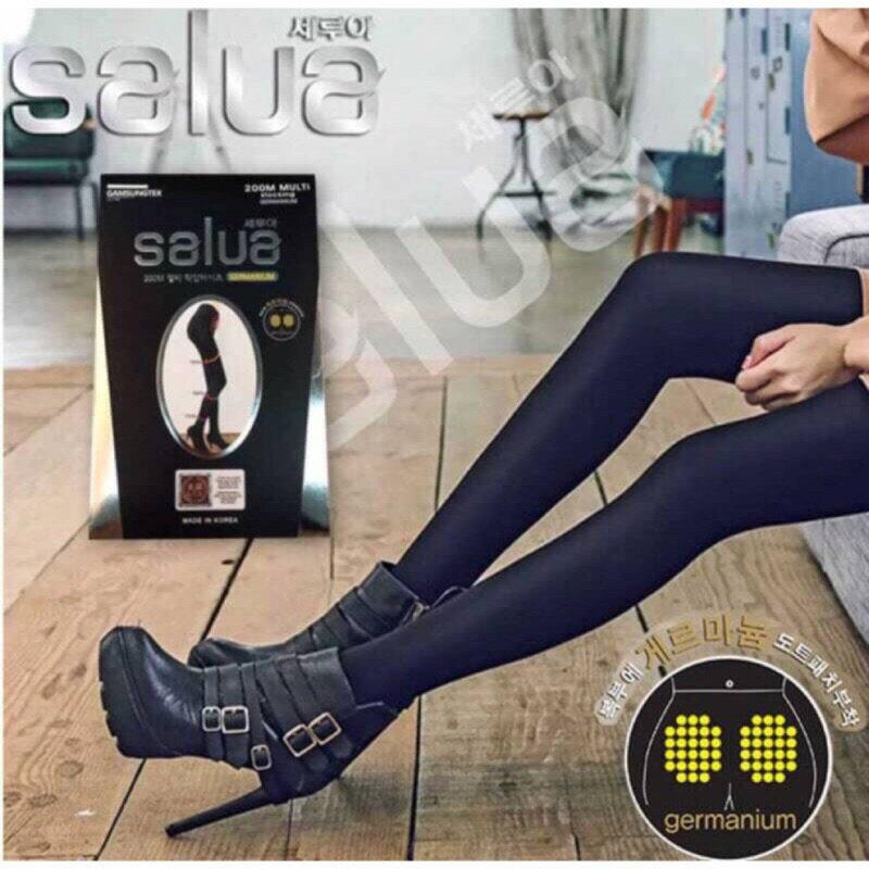 韓國salua鍺石顆粒褲襪250M 美體壓力纖腿褲襪