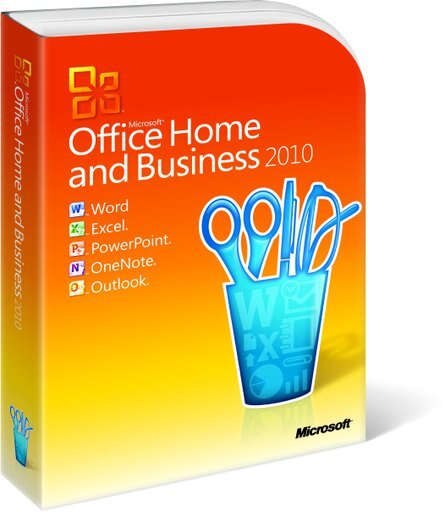 Microsoft Office Home and Business 2010(DVD), Retail