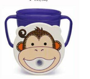 『121婦嬰用品館』baby house 愛迪生防漏吸管握把水杯 250ml - 猴子