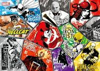 漫威英雄Marvel 周邊商品推薦Marvel Knights Presents 漫威街頭英雄(1)拼圖520片 HPM0520-012