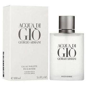 Giorgio Armani 亞曼尼 Acqua 寄情水男性淡香水 100ml (完整盒裝)