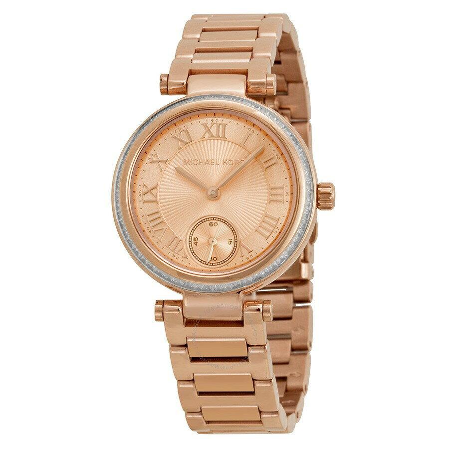 Outlet正品代購 Michael Kors MK 晶鑽羅馬數字 女錶 手錶 腕錶 玫瑰金 MK5971