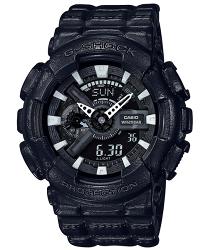 CASIO 卡西歐 G SHOCK 懷舊皮感夾克風雙顯流行腕錶 GA-110BT-1A 51.2mm
