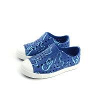 native 輕量懶人鞋、休閒防水鞋到native JEFFERSON PRINT 懶人鞋 洞洞鞋 藍色 小童 童鞋 13100101-8621 no773