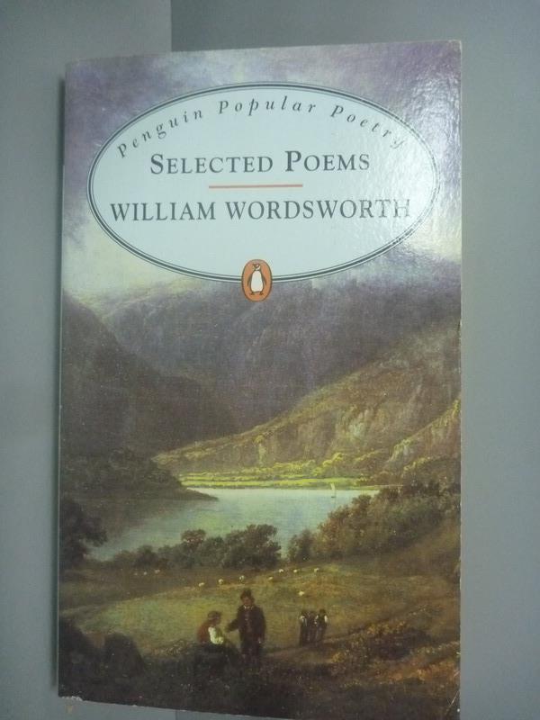 ~書寶 書T2/原文小說_KLQ~Selected Poems_William Words