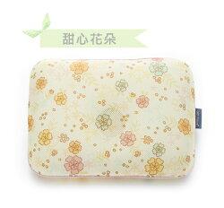 韓國GIO Pillow 超透氣護頭型嬰兒枕頭【甜心花朵-單枕套組-L號】新生兒~2歲以上適用★衛立兒生活館★