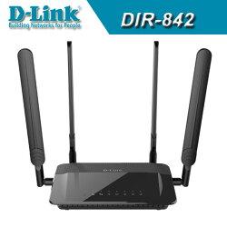 [富廉網] D-Link友訊 DIR-842 AC1200 雙頻Gigabit無線路由器