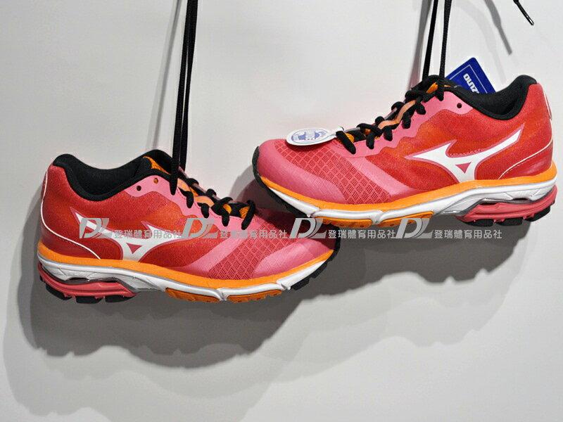 【登瑞體育】MIZUNO 女慢跑鞋WAVE UNITUS - J1GF152201零碼55折