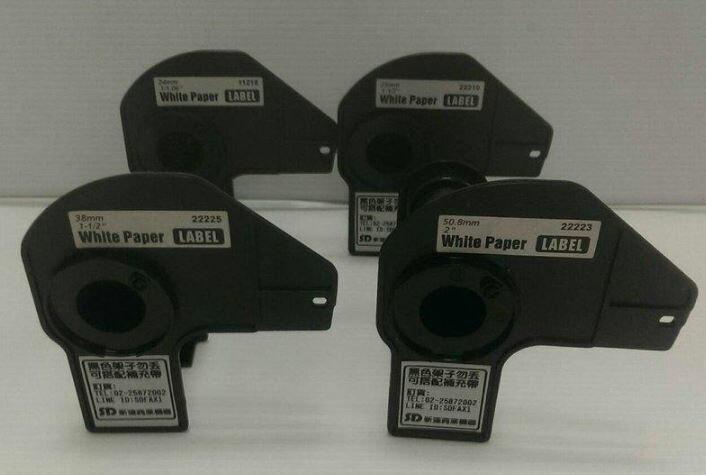 【歐菲斯辦公設備】 Brother DK貼紙支架 DK-22205 (62mm連續 副廠)