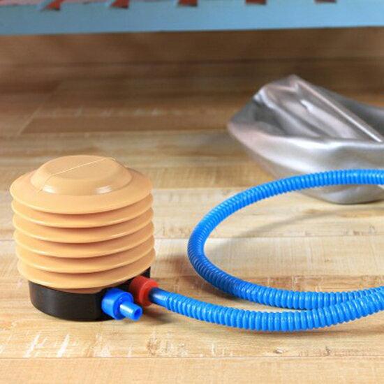 ●MY COLOR●腳踏式充氣筒 玩具 打氣筒 家用 簡易 ABS 氣球 充氣泵 充氣工具【P355】