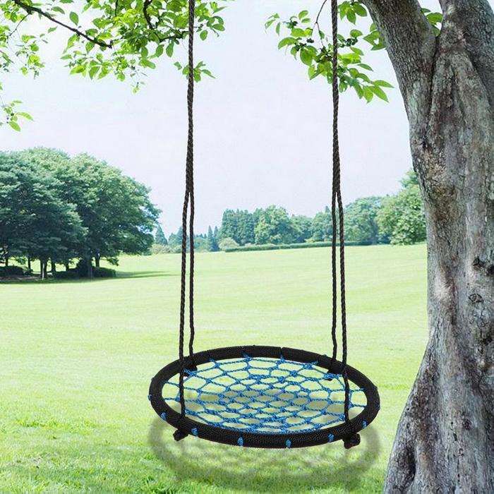 Outdoor Swing 24inch Diameter Foldable Tree Net Swing 2