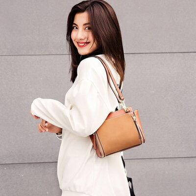 肩背包純色側背包-時尚簡約百搭多功能女包包4色73sb37【獨家進口】【米蘭精品】