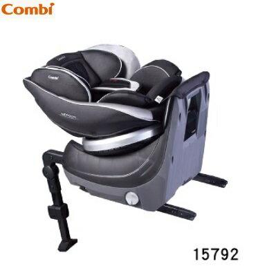【本月贈好禮2選1】日本【Combi 康貝】Neroom ISOFIX 旋轉式汽座(汽車安全座椅) - 公爵黑/伯爵紅 3
