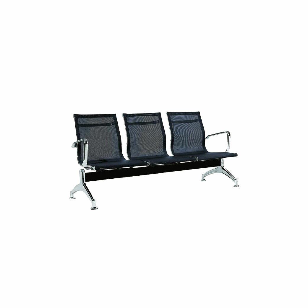 愛馬士機場網椅 三人二手 FM32