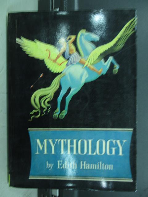 【書寶二手書T2/原文小說_JAN】Mythology_Edith Hamilton