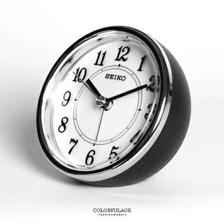 SEIKO日本精工 傾斜半球體造型貪睡鬧鐘 品質穩定夜光功能 柒彩年代【NV1691】原廠公司貨 - 限時優惠好康折扣