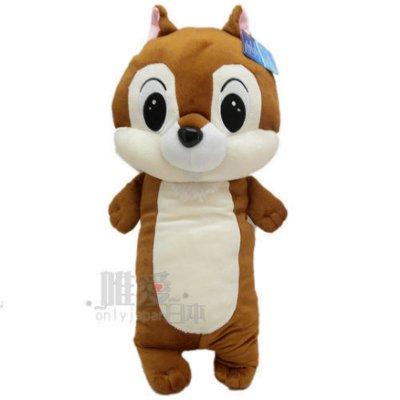 【真愛日本】12121100001  2號全身長抱枕68cm奇奇 花栗鼠 奇奇蒂蒂 松鼠 長抱枕 娃娃