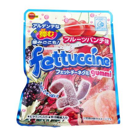 [敵富朗超市]北日本Fettuccine軟糖(綜合水果汽水口味)50g(賞味期限2018.08.21)