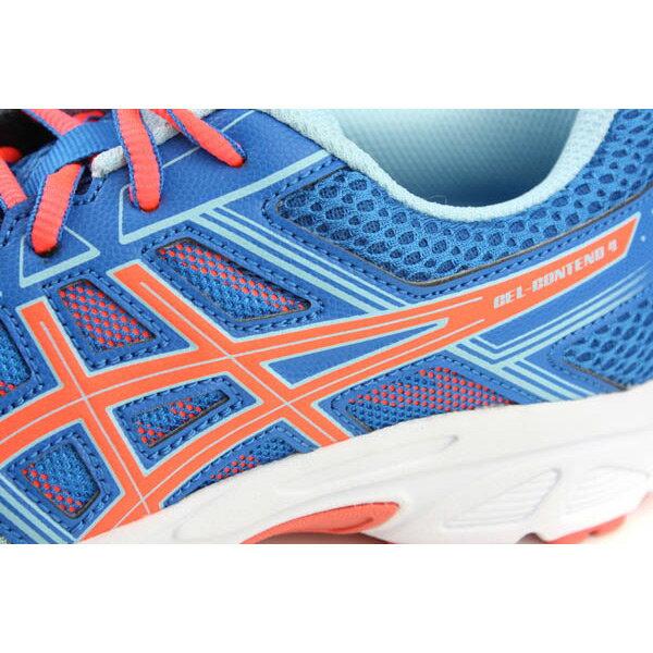 亞瑟士 ASICS GEL-CONTEND 4 GS 運動鞋 童鞋 藍色 大童 C707N-1406 no283 3