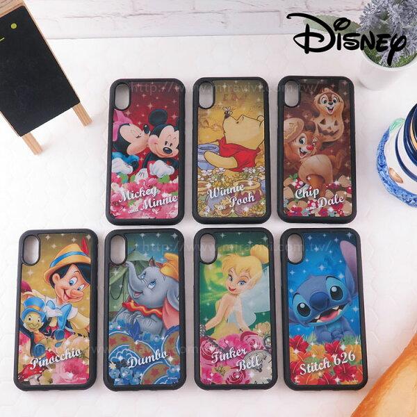 Miravivi:Disney迪士尼iPhoneX防手滑保護殼_星光經典