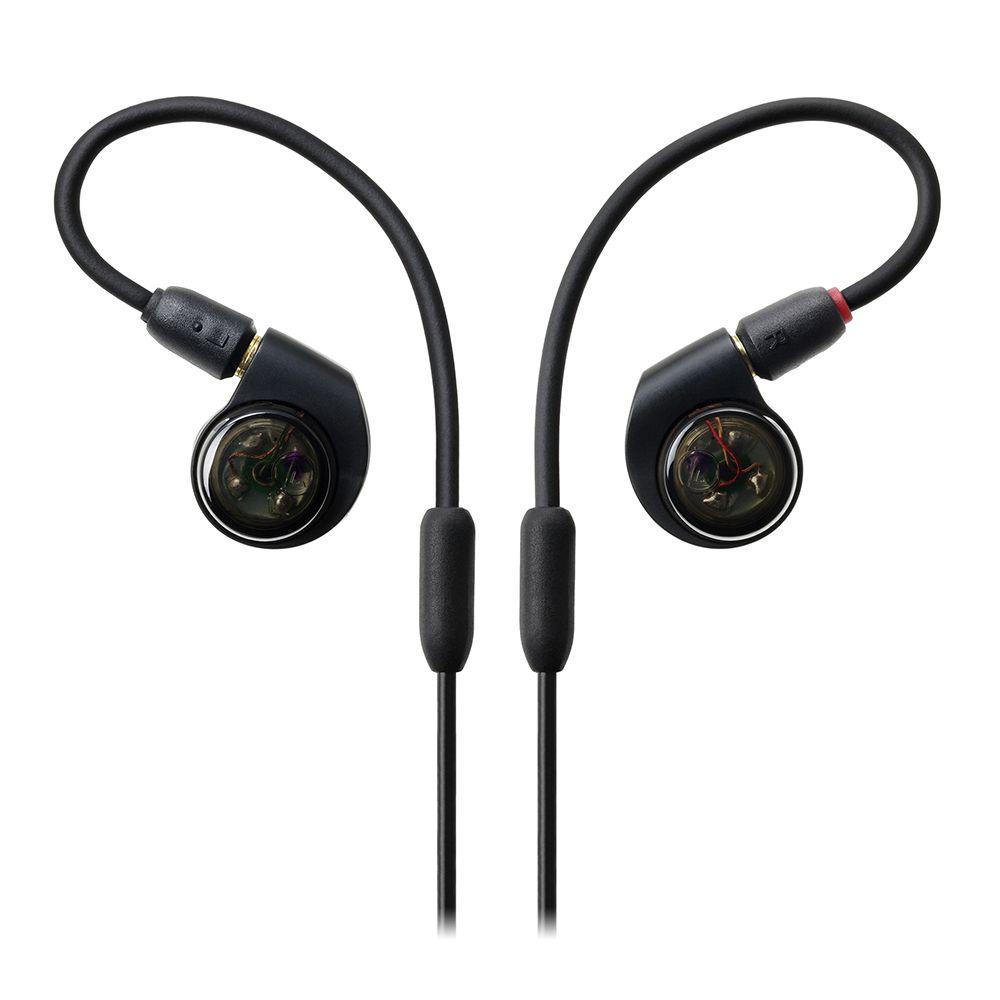 鐵三角 ATH-E40 【限時特價1/20寄出】黑色 雙動圈 監聽 耳道式耳機 | 金曲音響