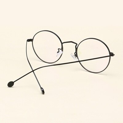 ★眼鏡框圓框眼鏡鏡架-簡約復古文藝百搭男女平光眼鏡6色73oe77【獨家進口】【米蘭精品】 2