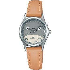 龍貓大臉手錶 皮革 SEIKO ALBA 宮崎駿 日貨 正版授權 J00010228