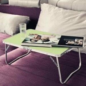 美麗大街【S106121907】鋁合金輕便多功能摺疊電腦桌小露營桌