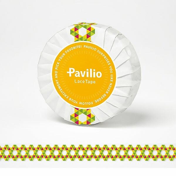 【日本Pavilio】風格膠帶Standard系列F-ST07JY黃角角捲