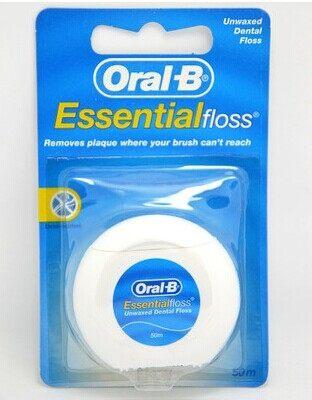 專品藥局 Oral B 歐樂B 牙線 (原味) 50公尺 【2003235】