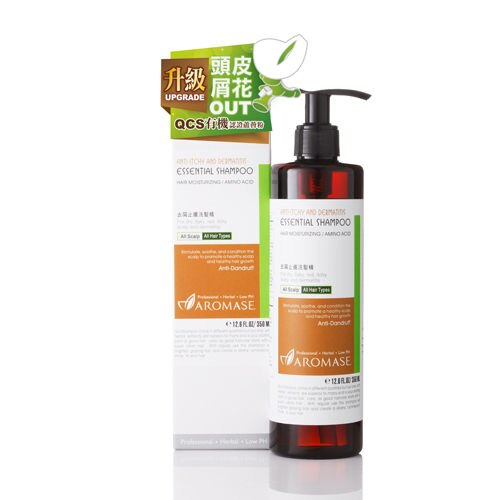 專品藥局 艾瑪絲 AROMASE 去屑止癢洗髮精 350ml (醫美級專業抗屑成分,頭皮屑花OUT)